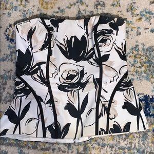 White house black market corset size 0.